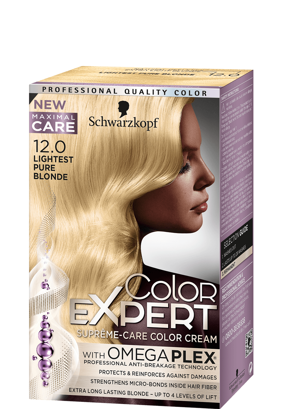 Color Expert Color Creme 12-0 Lightest Pure Blonde
