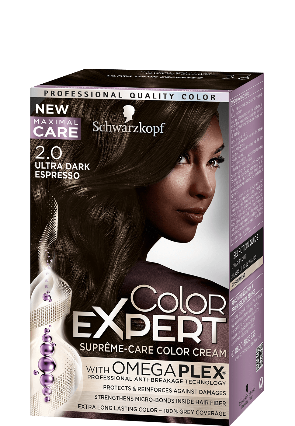 Color Expert Color Creme 2-0 Ultra Dark Espresso