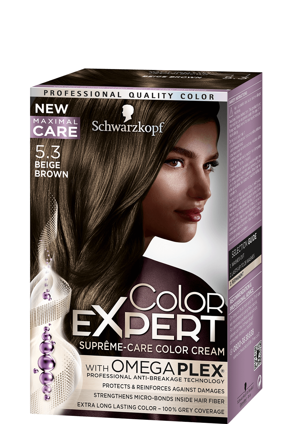 Color Expert Color Creme 5-3 Beige Brown