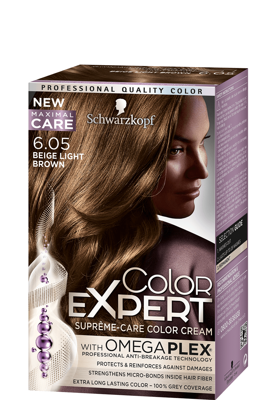 Color Expert Color Creme 6-05 Beige Light Brown
