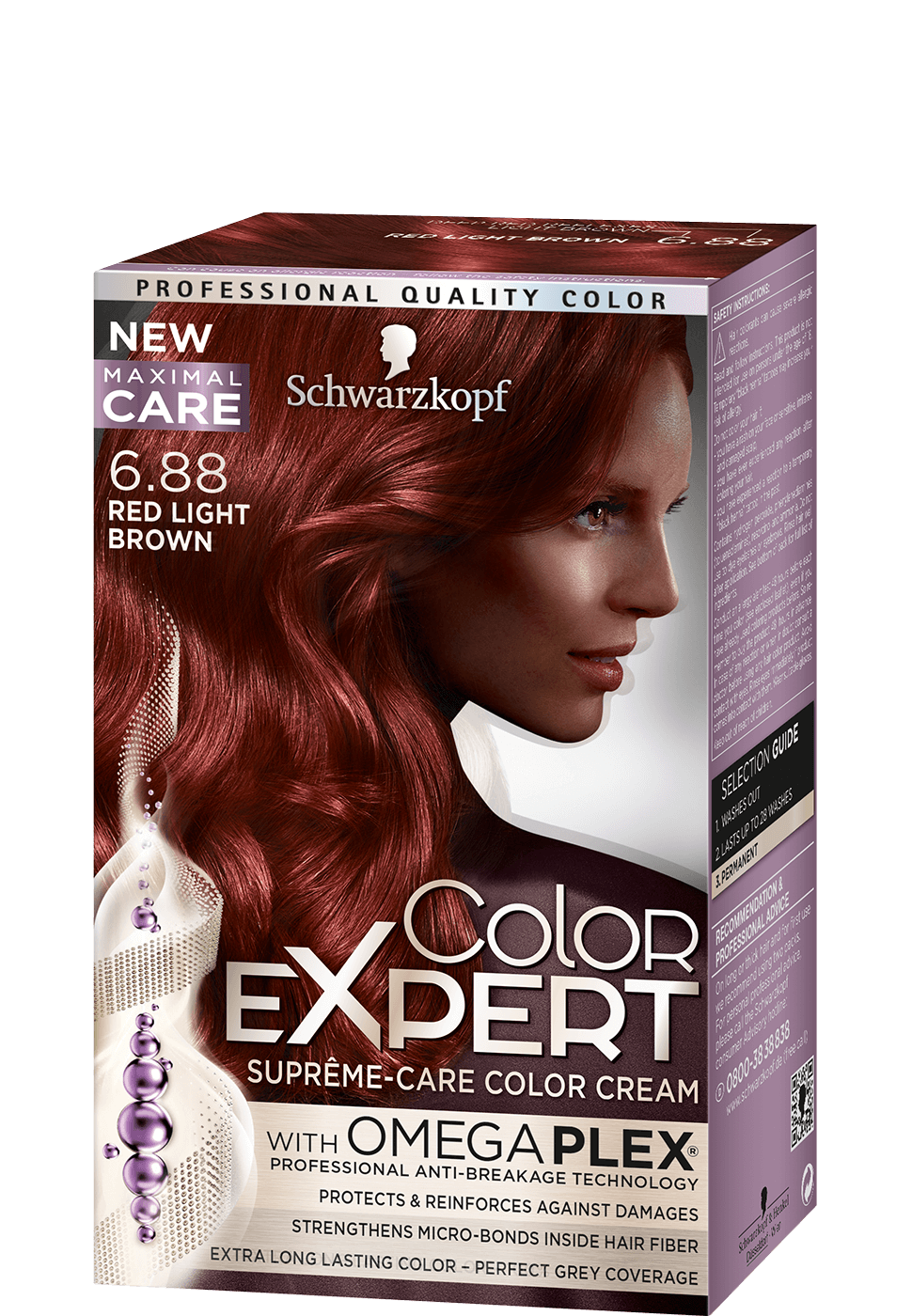 Color Expert Color Creme 6-88 Red Light Brown