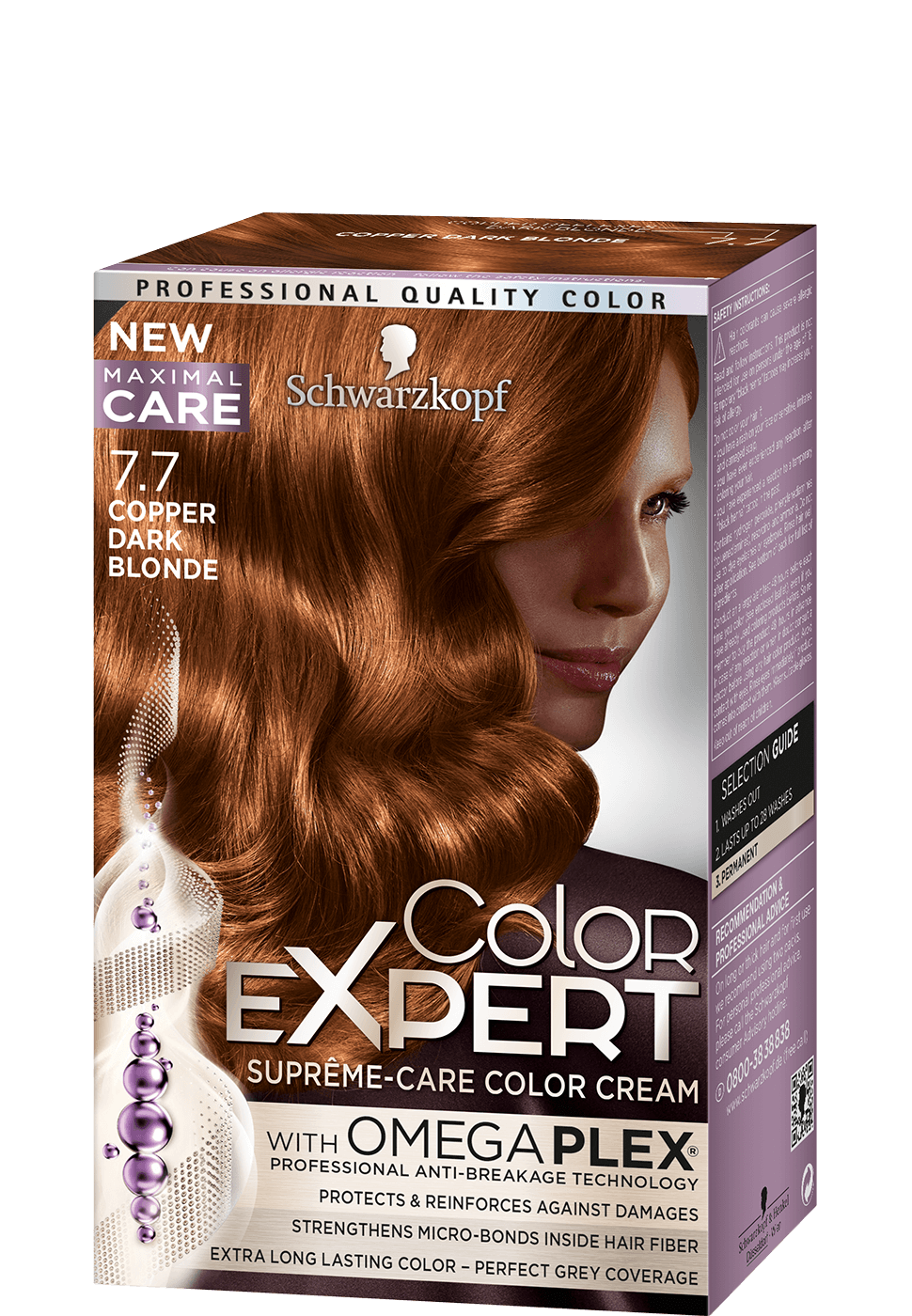 Color Expert Color Creme 7-7 Copper Dark Blonde