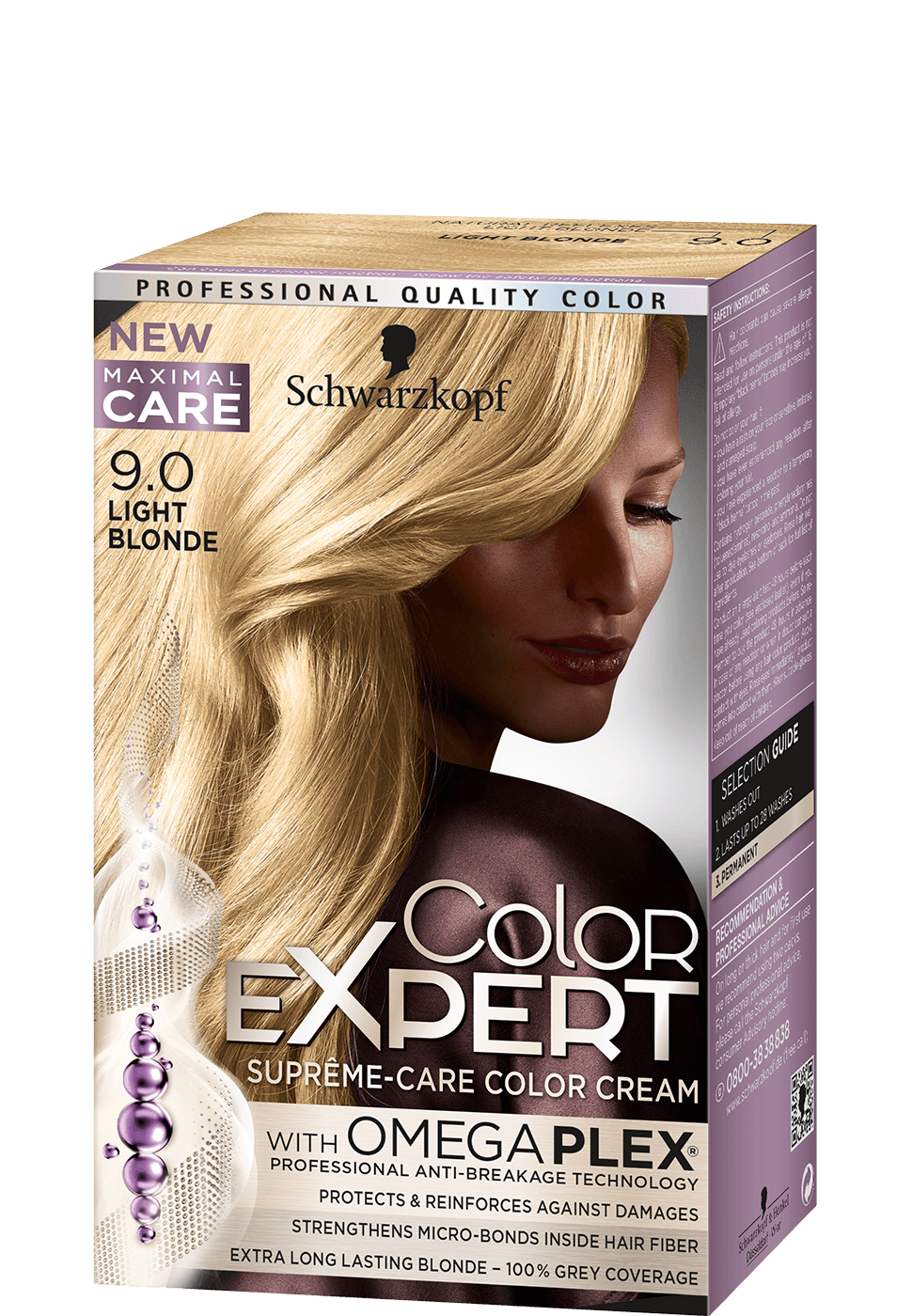 Color Expert Color Creme 9-0 Light Blonde
