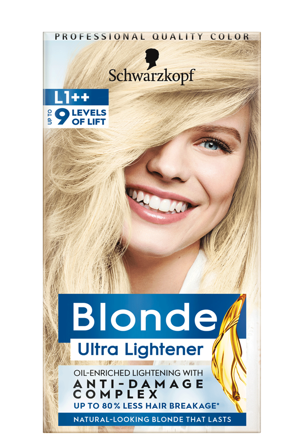Blonde Lighteners LD Dark Hair Lightener