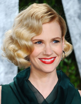 Frizure s dodjele nagrade Oscar: January Jones